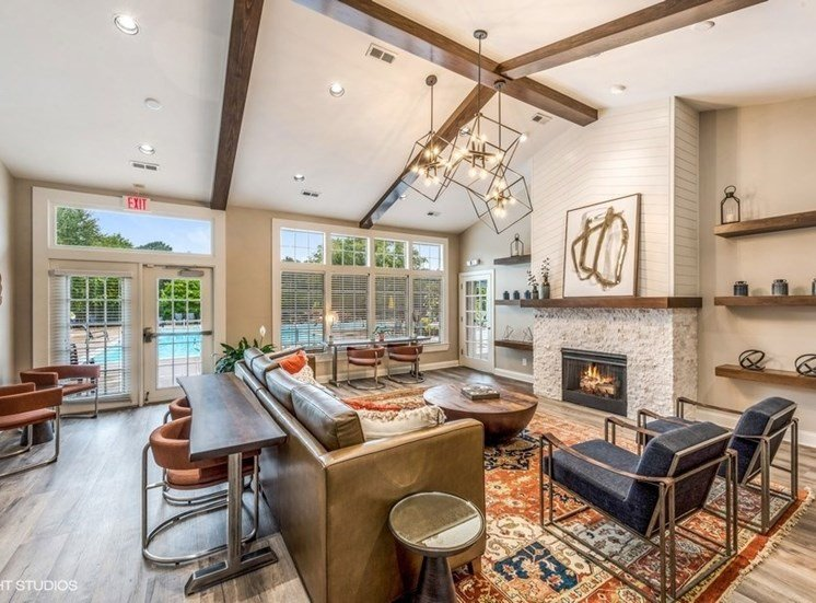 Designer Clubhouse at Brittany Commons Apartments, Spotsylvania